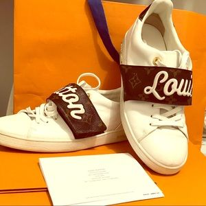 I'm selling my Luis Vuitton sneakers